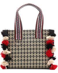 Etro - Raffia Shoulder Bag - Lyst