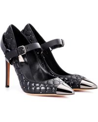 Valentino - Rockstud Spike Leather Pumps - Lyst