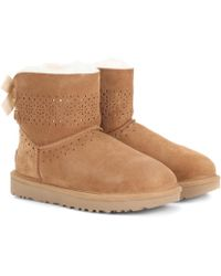 UGG - Dae Sunshine Suede Boots - Lyst