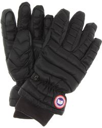Canada Goose - Quilted Gloves - Lyst
