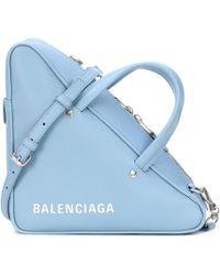 Balenciaga - Triangle Duffle S Leather Tote - Lyst