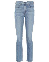 Proenza Schouler - Jeans a vita alta - Lyst