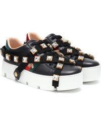 Gucci Sneakers New Ace aus Leder