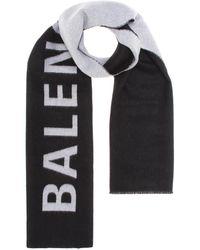 Balenciaga - Wool Scarf - Lyst