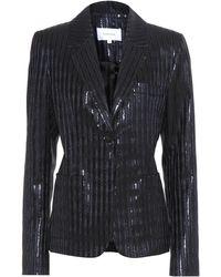 Carven - Metallic Striped Jacket - Lyst