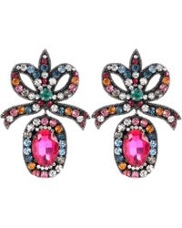 Gucci - Crystal-embellished Earrings - Lyst