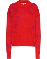 McQ - Swallow Mohair-blend Sweater - Lyst