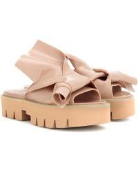 N°21 - X Kartell Knot Platform Sandals - Lyst