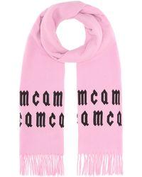 McQ - Bufanda de lana con bordados - Lyst
