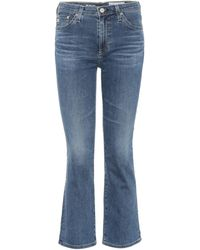 AG Jeans - Jodi Crop Flared Jeans - Lyst