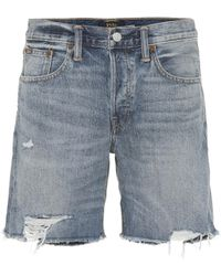 Polo Ralph Lauren - Rylee Denim Shorts - Lyst