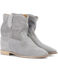 Isabel Marant - Exclusive To Mytheresa – Crisi Suede Ankle Boots - Lyst