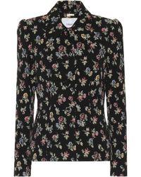 Erdem - Floral Stretch-cotton Jacket - Lyst