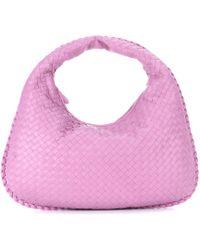 Bottega Veneta - Veneta Medium Leather Shoulder Bag - Lyst