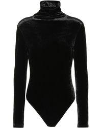 Unravel - Velvet Bodysuit - Lyst