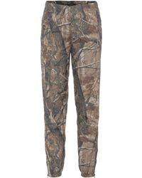 Yeezy Camouflage-printed Pants (season 5) - Green