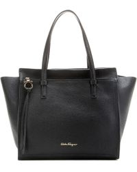 Ferragamo | Large Amy Leather Tote | Lyst