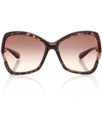 Tom Ford - Astrid Oversized Sunglasses - Lyst