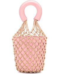 Staud | Moreau Leather Bucket Bag | Lyst