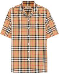 Burberry - Short-sleeve Check Shirt - Lyst