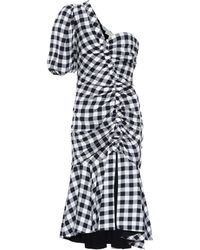 Jonathan Simkhai - Checked Crêpe Dress - Lyst