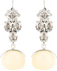 Isabel Marant - Ohrringe mit Kristallen - Lyst