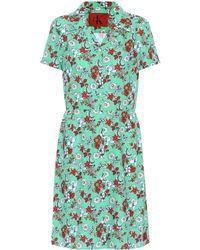 Calvin Klein - Floral-printed Dress - Lyst
