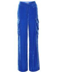 Monse | Velvet Wide-leg Trousers | Lyst