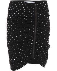 Veronica Beard - Webb Embellished Skirt - Lyst