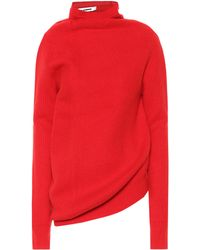 Jil Sander - Wool And Cashmere Sweater - Lyst