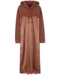 PUMA - Cotton-blend Hoodie And Slip Dress - Lyst
