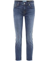 7 For All Mankind - Roxanne Ankle Skinny Jeans - Lyst