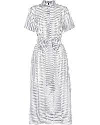 Lisa Marie Fernandez - Cotton Shirt Dress - Lyst
