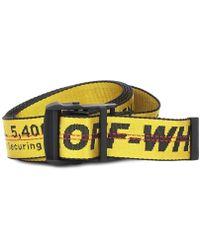 Off-White c/o Virgil Abloh - Cintura Industrial in tessuto tecnico - Lyst