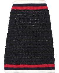 Gucci - Cotton-blend Skirt - Lyst