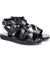 Isabel Marant - Noelly Leather Sandals - Lyst