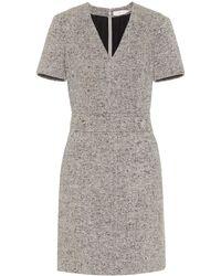 Tory Burch - Priscilla Linen-wool Blend Dress - Lyst