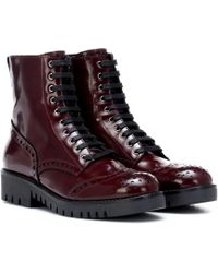 McQ - Leather Ankle Boots - Lyst