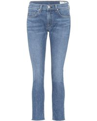 Rag & Bone - Jeans Ankle Skinny - Lyst