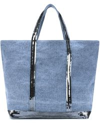 Vanessa Bruno - Cabas Medium Denim Shopper - Lyst