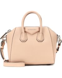 bd0b65a10b03 Givenchy - Antigona Mini Leather Shoulder Bag - Lyst
