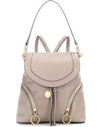 See By Chloé - Leather Backpack - Lyst