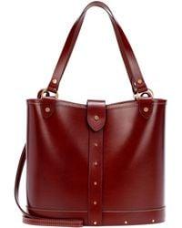 The Row | Leather Bucket Bag | Lyst