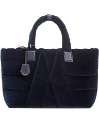 Moncler - Powder Velvet Shoulder Bag - Lyst