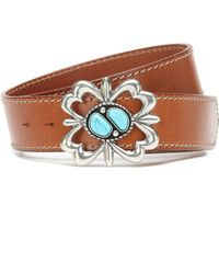 Alanui - Cinturón de piel adornado - Lyst