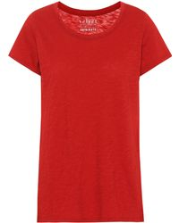 Velvet - Tilly Cotton T-shirt - Lyst