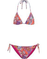 Etro Triangel-Bikini