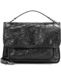 Saint Laurent - Medium Niki Monogram Leather Shoulder Bag - Lyst