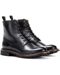 Church's - Antic Leather Ankle Boots - Lyst