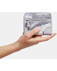 MZ Wallace - Light Grey Camo Crosby Mini Wallet - Lyst